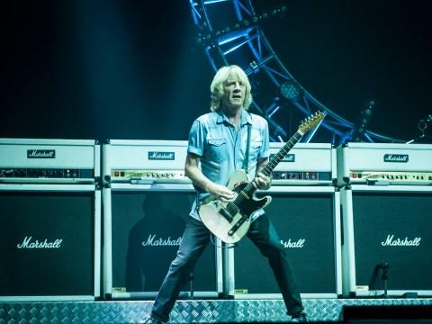 Status Quo guitarist Rick Parfitt recovering after suffering heart attack in Turkey