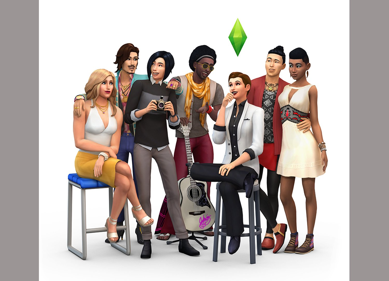 The Sims has removed all gender boundaries in its gameplay