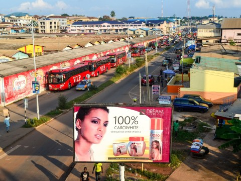 An African country is banning skin bleaching products, here's why