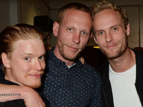 Laurence Fox covers up his Mrs Fox tattoo tribute to Billie Piper with much larger design