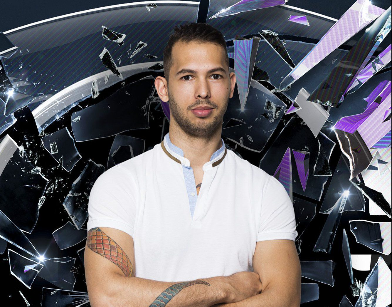 Channel 5 undated handout photo of Andrew Tate, one of the housemates in this year's Summer Big Brother 2016. PRESS ASSOCIATION Photo. Issue date: Tuesday June 7, 2016. Photo credit should read: Channel 5/PA Wire NOTE TO EDITORS: This handout photo may only be used in for editorial reporting purposes for the contemporaneous illustration of events, things or the people in the image or facts mentioned in the caption. Reuse of the picture may require further permission from the copyright holder.