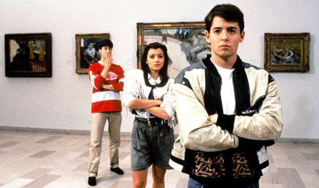 FILM: Ferris Bueller's Day Off (1986) Matthew Broderick, Mia Sara and Alan Ruck