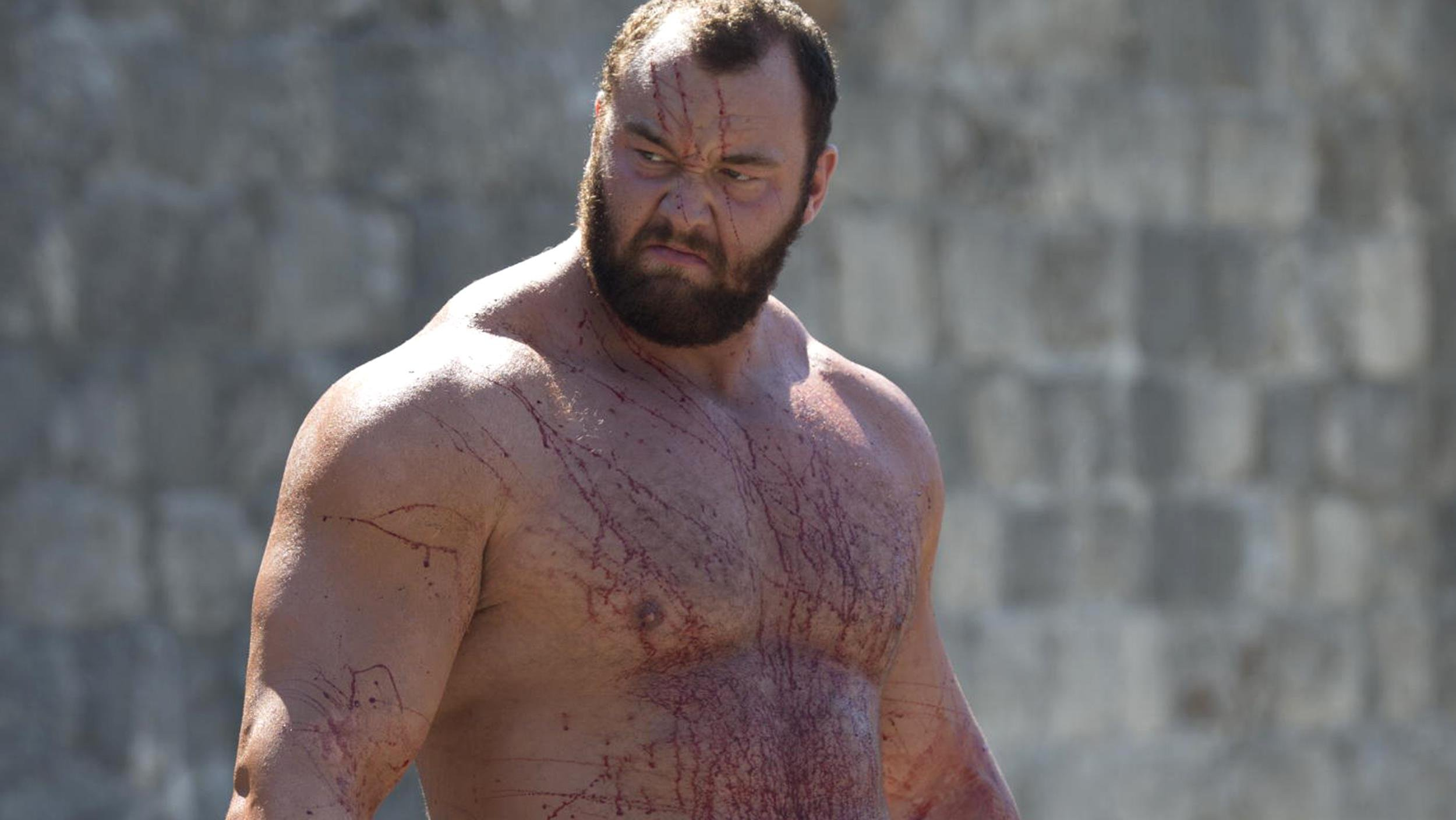 Here's what The Mountain from Game Of Thrones used to look like before he bulked up credit: HBO