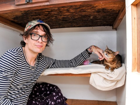The Darkness singer Justin Hawkins has been reunited with his missing cat after THREE YEARS apart