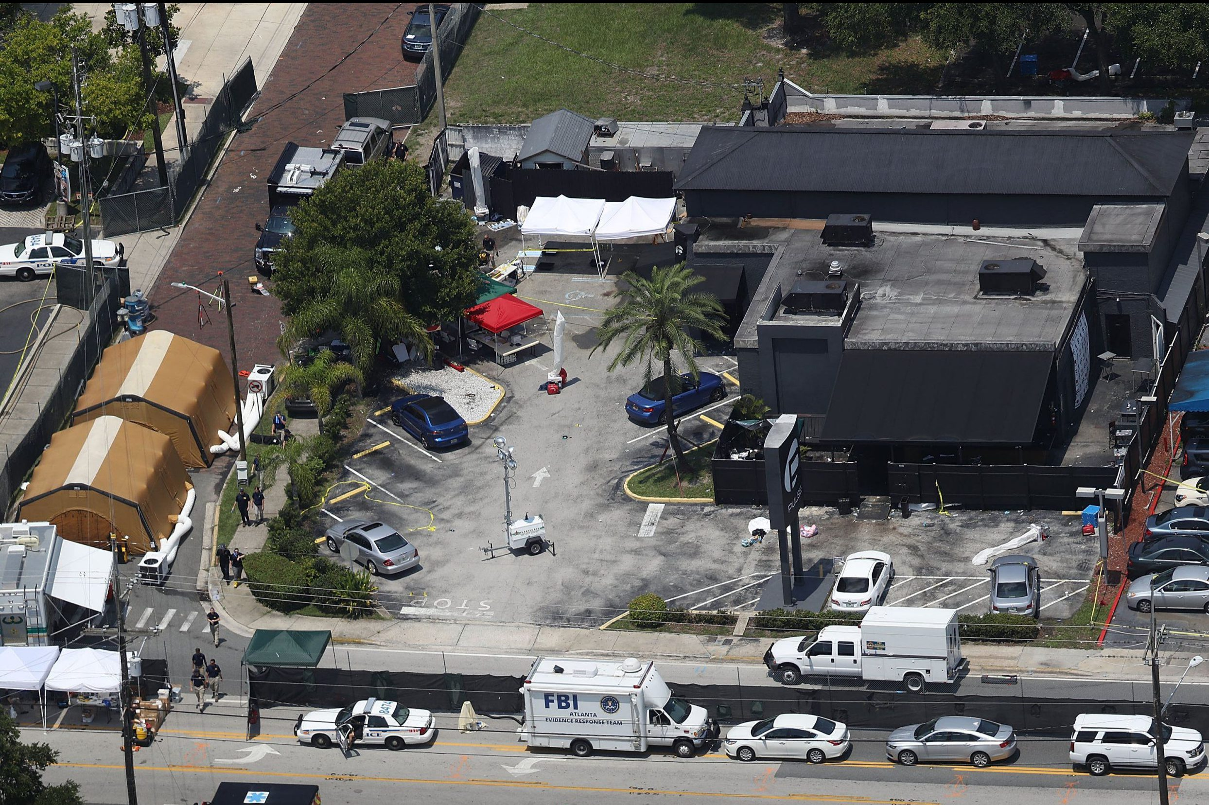 Horrifying CCTV footage shows gunman massacre 49 victims in Pulse nightclub 'minute by minute'