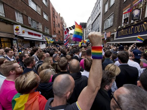 Love conquers hate: Thousands stand united with Orlando victims in London vigil