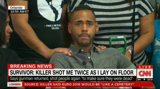 ANGEL COLON - ORLANDO ATTACK SURVIVORS & THEIR DOCTORS SPEAK..CNN