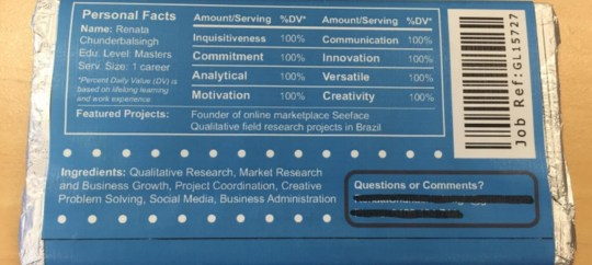 Print your CV on a chocolate bar if you want to get a job | Metro News