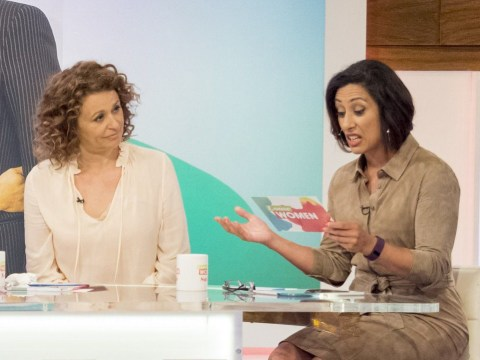 Loose Women's Nadia Sawalha says men shouldn't be gynaecologists