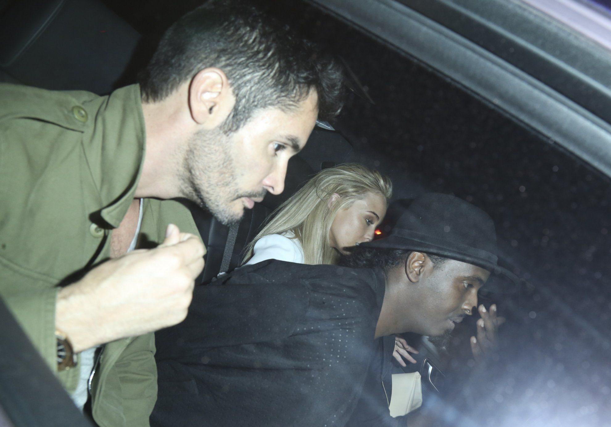 Jean-Bernard Fernandez Versini left a club with Alex Mytton's Made In Chelsea girlfriend Nicola Hughes