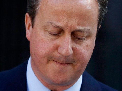 Cameron's tears inside Number 10 after his resignation speech