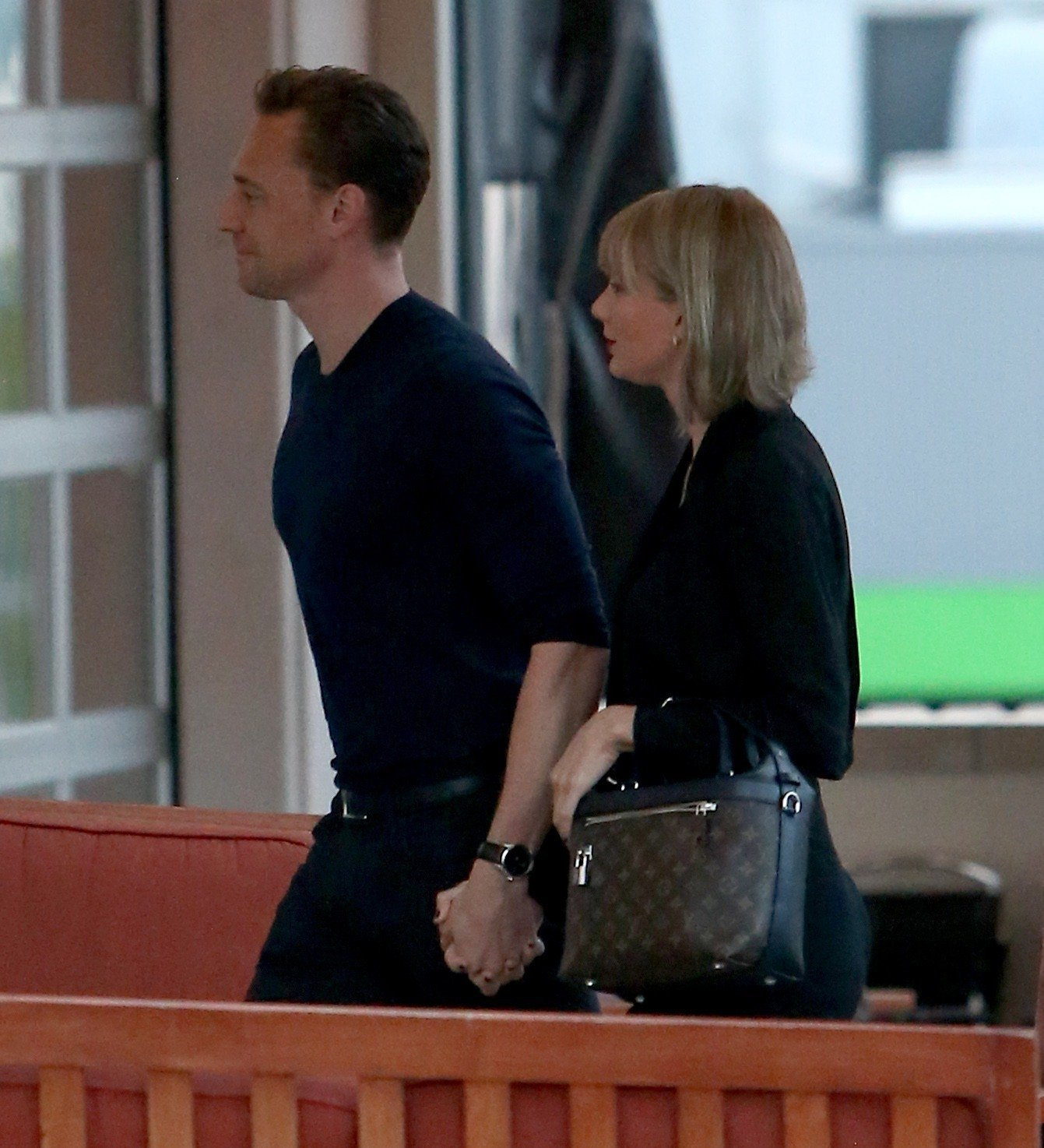 Now Taylor Swift meets Tom Hiddleston's mum as the loved-up pair touch down in Essex
