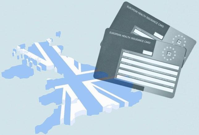 Will Brexit invalidate my EHIC card? CREDIT ALAMY/METRO/GETTY EHIC-CARD.jpg