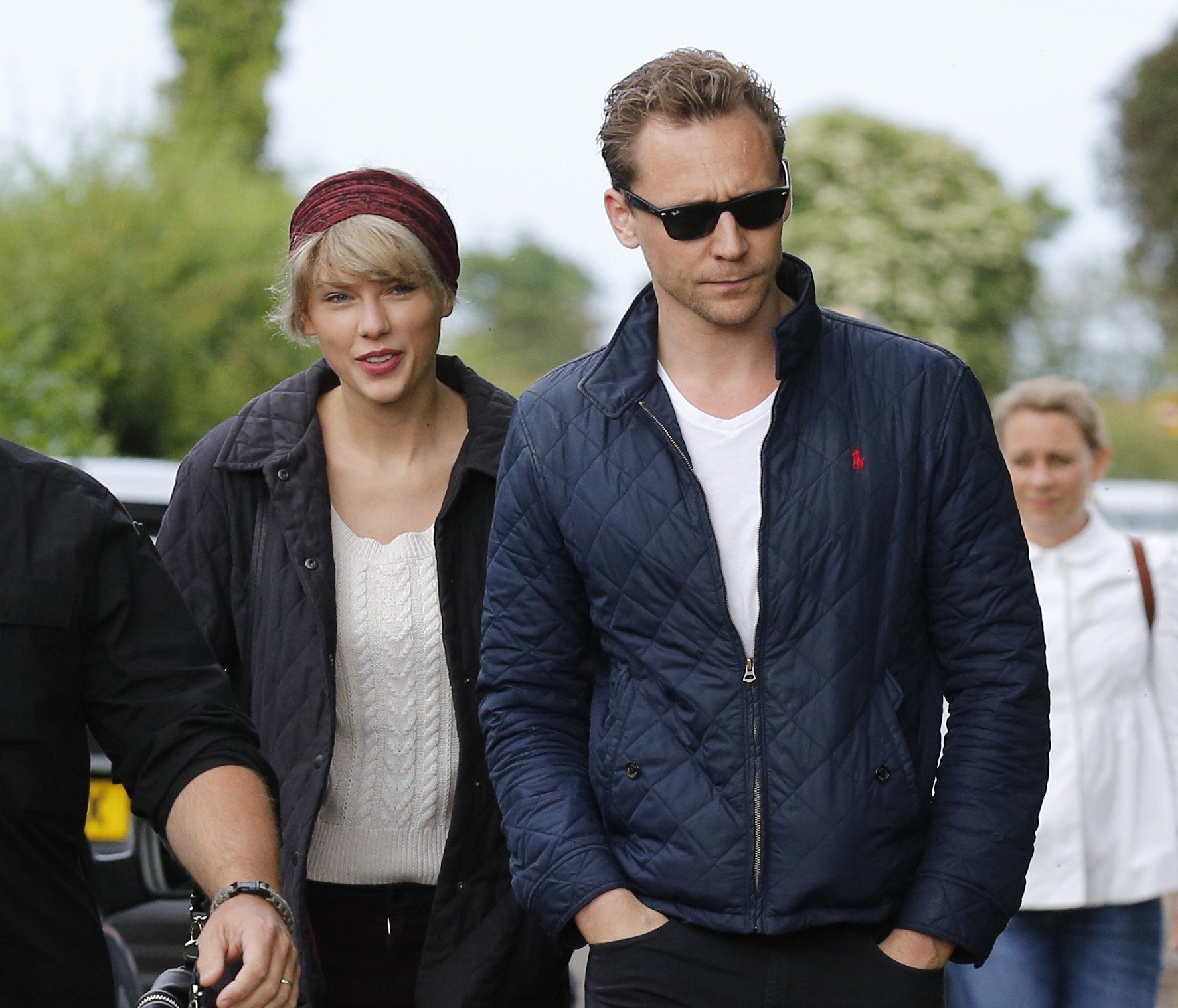 Tom Hiddleston is telling Taylor Swift to shake it off and forget about the haters