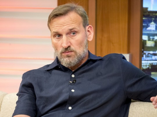 EDITORIAL USE ONLY. NO MERCHANDISING Mandatory Credit: Photo by Ken McKay/ITV/REX/Shutterstock (5737705ad) Christopher Eccleston 'Good Morning Britain' TV show, London, UK - 28 Jun 2016