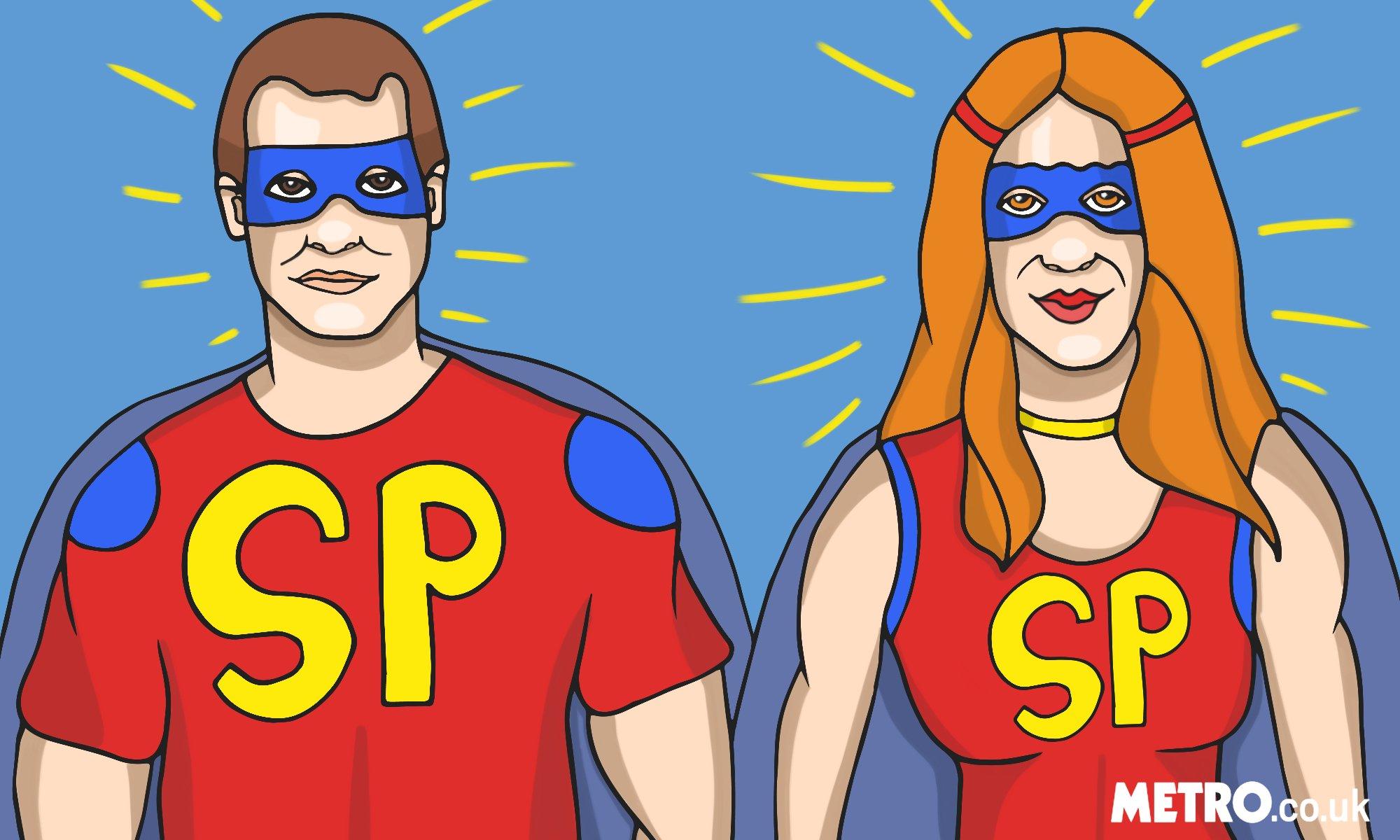super parent 2 illustration by Monika Mmuffin