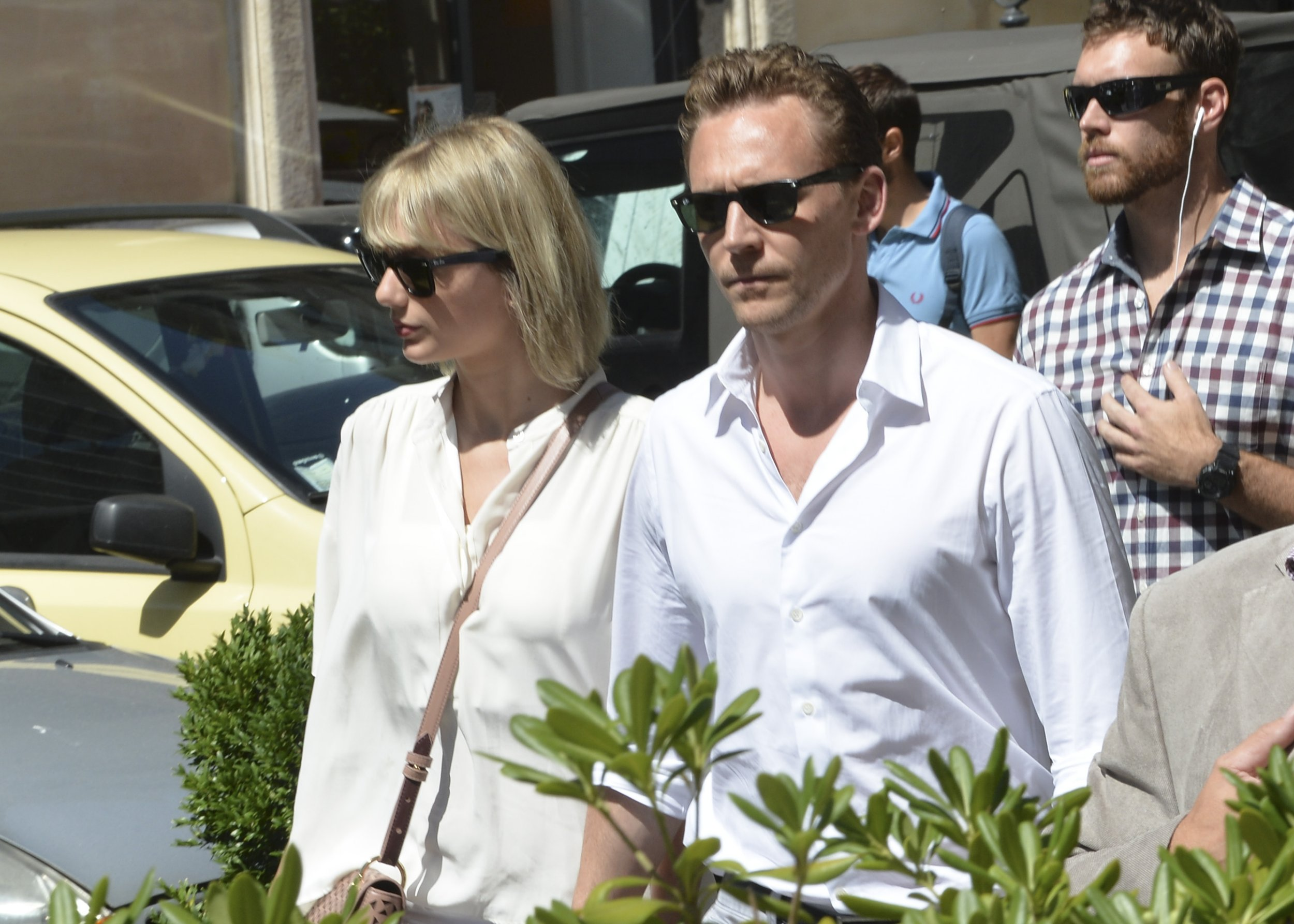 Are Tom Hiddleston and Taylor Swift just filming a really elaborate music video?