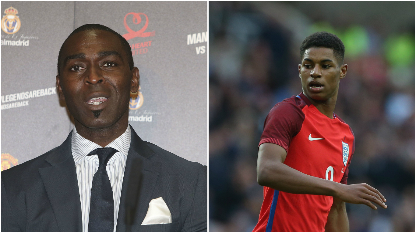Ex-Manchester United hero Andy Cole worried Marcus Rashford could end up like Arsenal's Theo Walcott