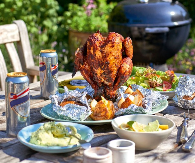 Beer can Piri Piri chicken by James Martin (Picture: BBC Good Food Show Summer)