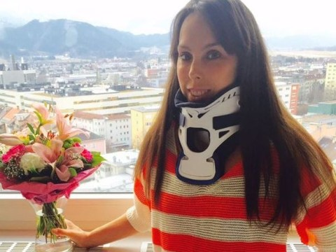 Beth Tweddle has sought help from a psychologist after her injuries on The Jump