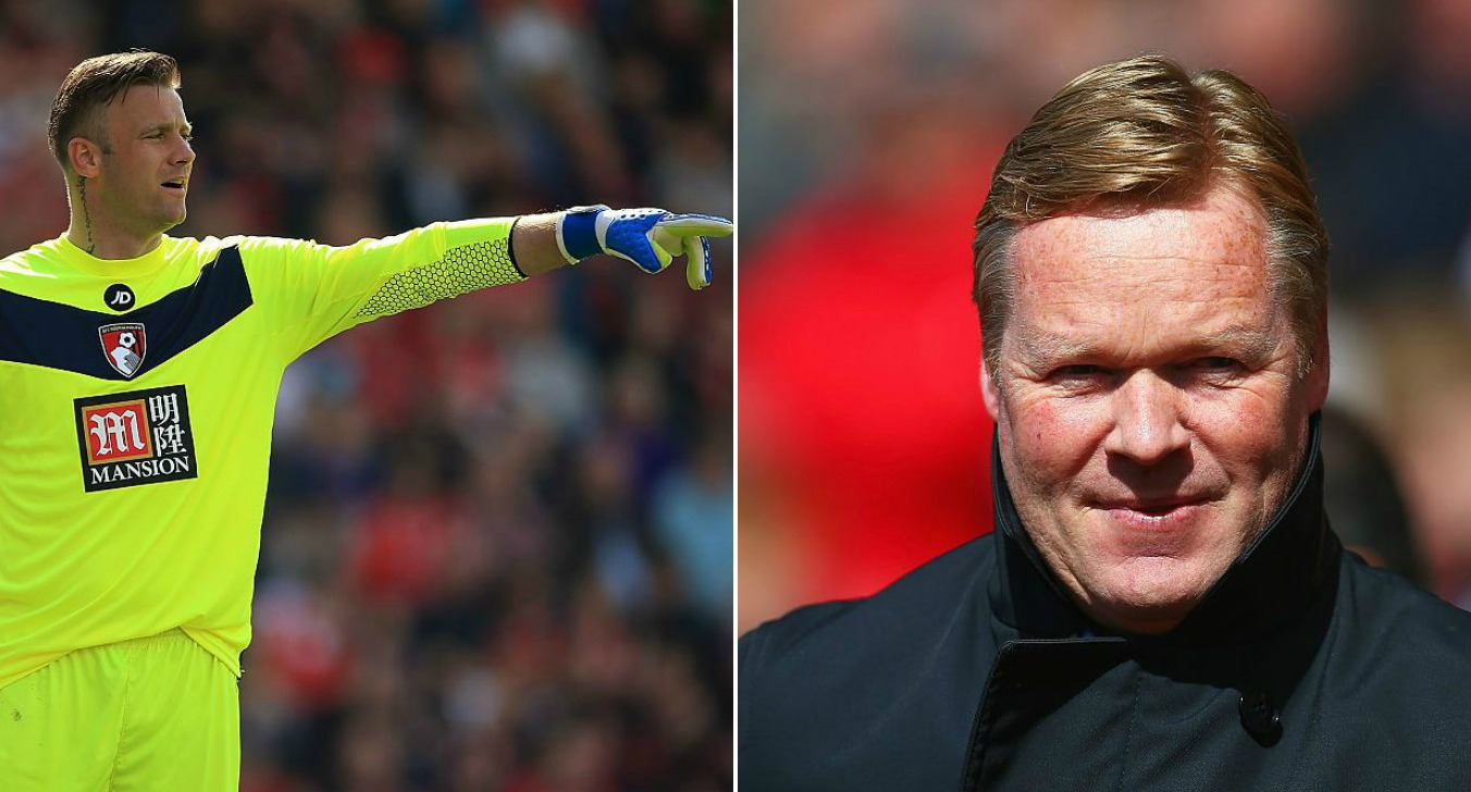 Artur Boruc hits out at Ronald Koeman after manager confirmed as new Everton boss