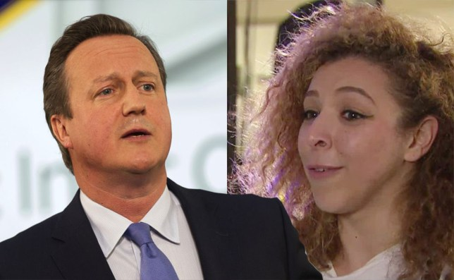 David Cameron told off by student for 'waffling' during EU debate