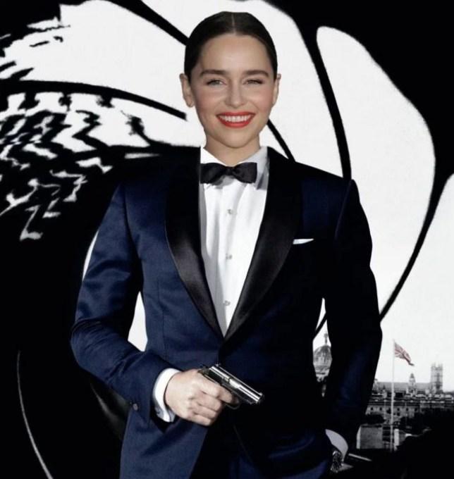 The name's Bond, Jane Bond (Picture: Rex)