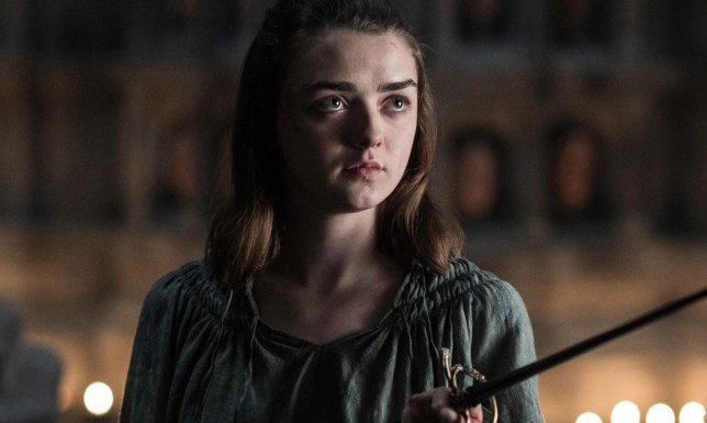 Arya fights back (Picture: HBO)