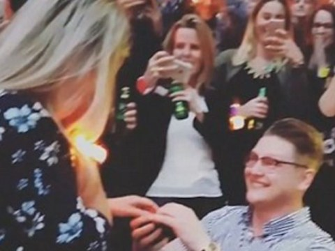 WATCH: Man proposes to girlfriend in front of 90,000 fans at Coldplay's Wembley gig