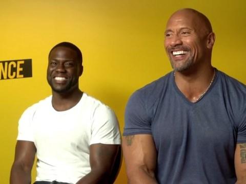 Dwayne Johnson and Kevin Hart justify their choice to remake Jumanji