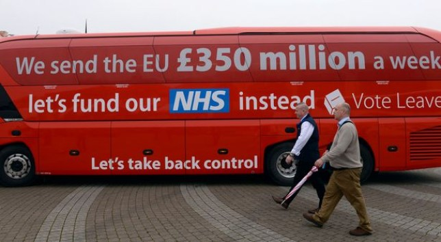 Round-up of leave campaigners backtracking on the £350million for the NHS lie