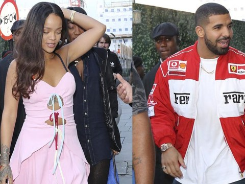 Rihanna and Drake partied at a London nightclub until 6am to celebrate Nicole Scherzinger's birthday
