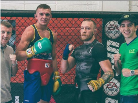 Conor McGregor enlists help of fellow Irish champions in preparation for Nate Diaz rematch