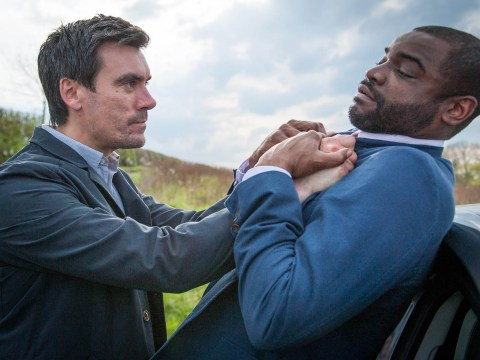 Emmerdale spoilers: Look out Dr Bailey! Cain Dingle turns violent in new pictures