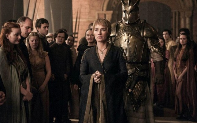 Will Lena Heady be walking to victory at the Emmy Awards? (Picture: HBO)