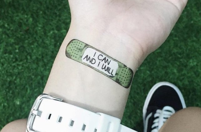 (Picture: Motivational Tattoos)