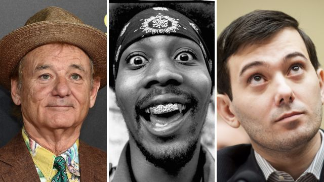 What do Bill Murray, Wu -Tang Clan and Martin Shkreli have in common? (Pictures: Getty/Redferns)