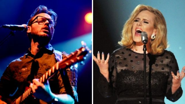 Turin Brakes' Olly Knights doesn't want you seeing Adele at Glastonbury (Picture: Redferns/Getty)
