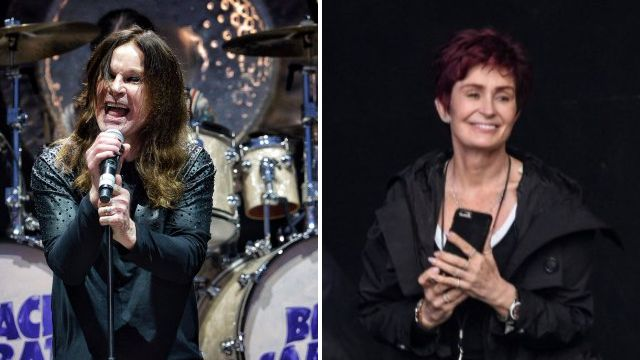 Black Sabbath gave their final ever performance at Download Festival with Sharon Osbourne supporting on the sideline