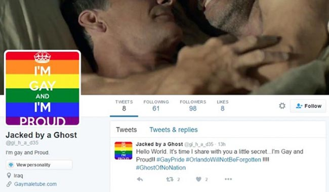 Isis accounts hacked with gay porn over Orlando massacre