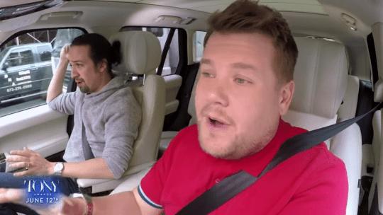 James Corden Broadway Carpool Karaoke -
