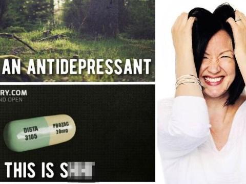 Woman hits back at 'stigmatising' meme saying antidepressants are 'sh*t'