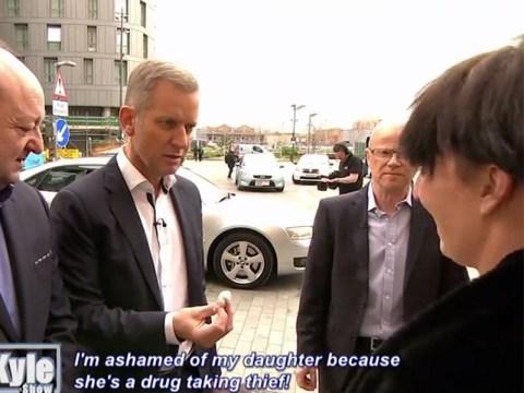Jeremy Kyle left speechless after drug-addicted guest hands him bag of heroin on show