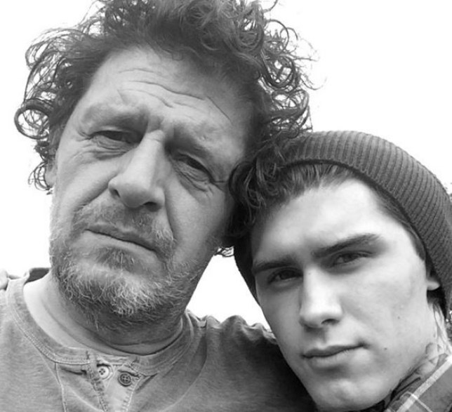 Marco Pierre White Snr and Jr. Picture: Instagram)