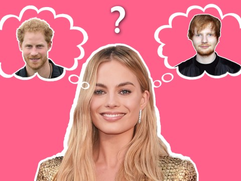 Margot Robbie thought Prince Harry was Ed Sheeran when they partied together