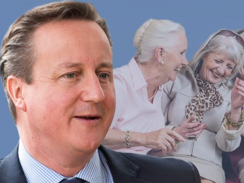 David Cameron wants your grandmas… (to vote Remain)