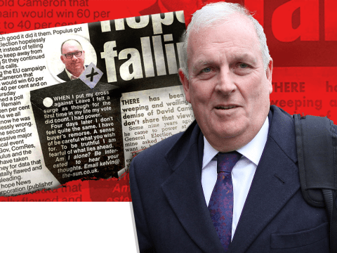 Kelvin MacKenzie says he's got 'buyer's remorse' for voting Leave