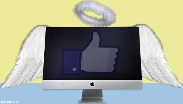 Sites like Facebook are beneficial for people with longtterm illnesses (Picture: Getty/Alamy/METRO/mylo)