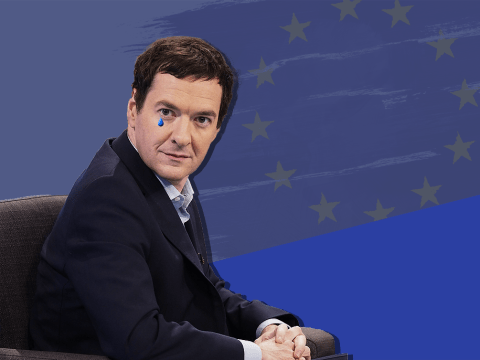 George Osborne is very upset about the EU referendum result