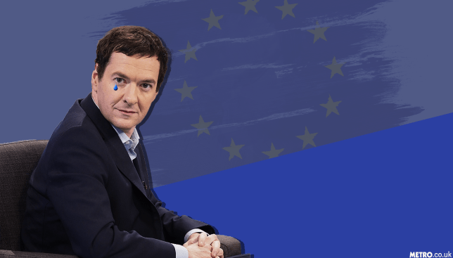 George Osborne's regret at EU decision (Picture: Metro.co.uk/Rex)
